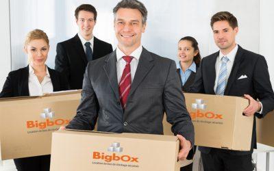 Représentants, commerciaux, vendeuses à domicile, artisans …  Bigbox stocke vos produits et vos matériels à Lyon